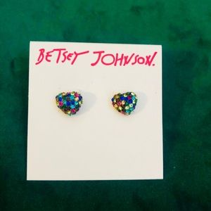 "Betsey Johnson Earrings ""New"""